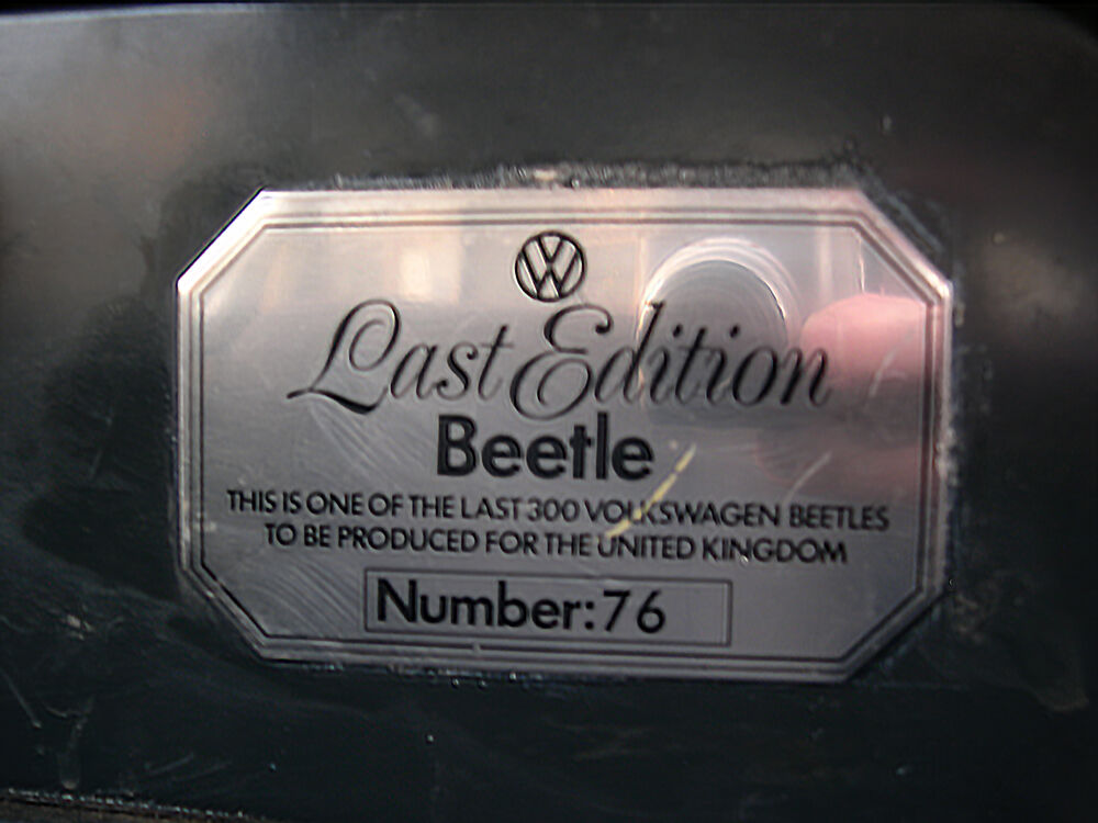 LEB Number 76 - LEB dashboard plaque