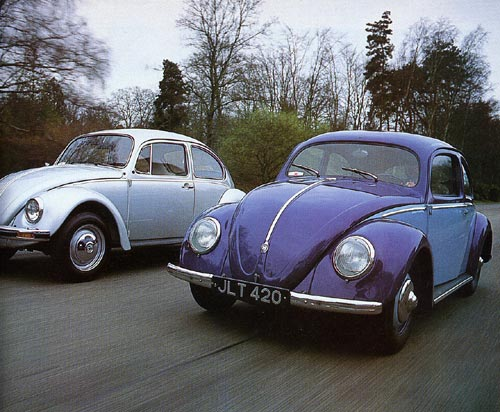 Classic Cars - June 1994 - 31 years separate the last German-built Beetle from the first; yet their character - and top speeds - are little changed