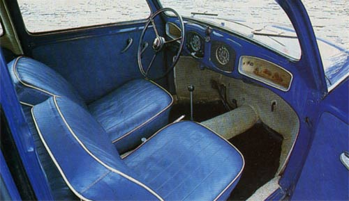 Classic Cars - June 1994 - The early Beetle's seats are, in true German tradition, as hard as hell; but the cabin is cosy