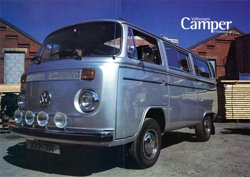 Volkswagen Camper & Commercial - Summer 2002 - Magazine centre spread