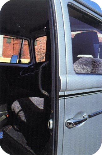 Volkswagen Camper & Commercial - Summer 2002 - Sliding door