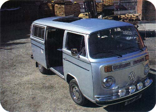 Volkswagen Camper & Commercial - Summer 2002 - Note the sunroof