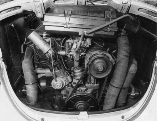 Volkswagen Driver - September 2003 - Engine bay