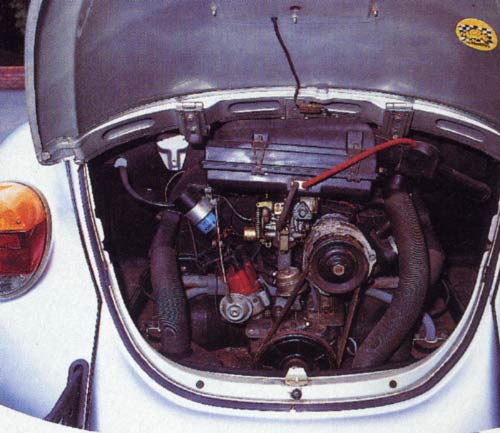 VolksWorld - November 1994 - Engine still bearing the remains of the factory wax coating