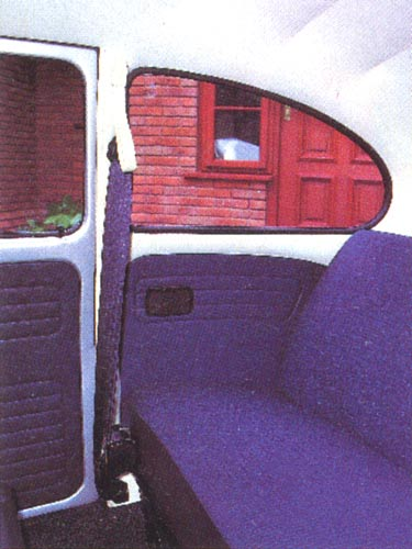 VolksWorld - November 1994 - Rear seats look like they've never been sat in