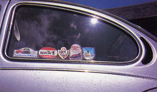 VolksWorld - September 1997 - Sticker collection
