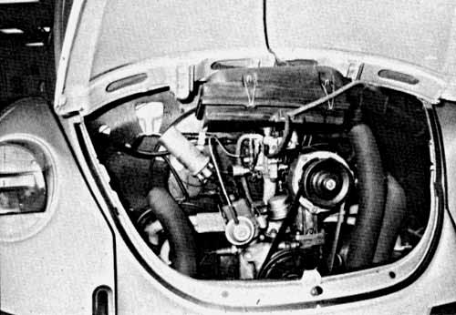 VW Motoring - September 1988 - The engine is in the same pristine condition as the interior