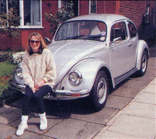 VW Motoring - June 1994 - With owner, Anne Critchley