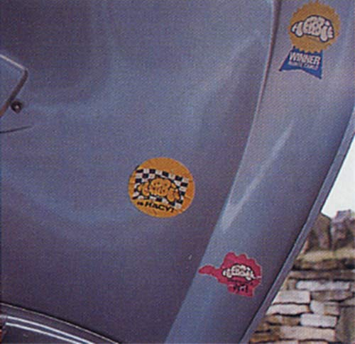 VW Motoring - May 1995 - Original Herbie stickers on the engine lid