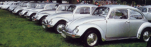 VW Motoring Beetle Collection 2 - Summer 1994 - Tatton Park lineup