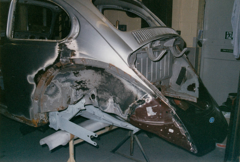 October 2002 - Yet more welding