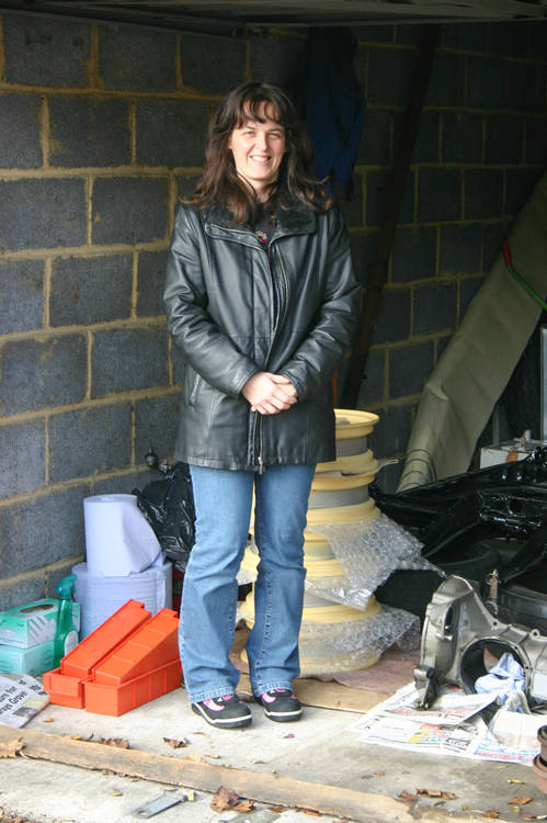 December 2005 - Meanwhile, back in the garage